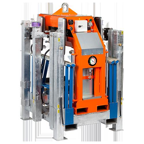 De VIAVAC vacuümheffer RotaBoy is gemakkelijk te vervoeren